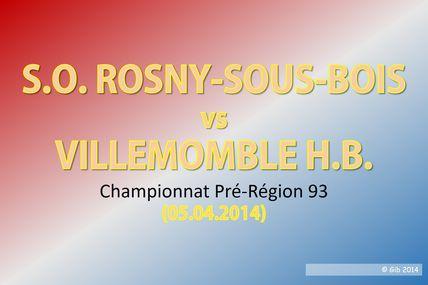 ROSNY vs VHB (Séniors Pré-Région 93)