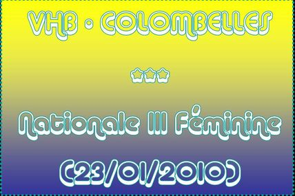 VHB vs COLOMBELLES (N3 - SF1)