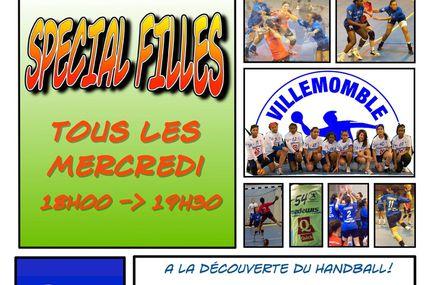 """Entraînements """"Découverte du Handball"""" !"""