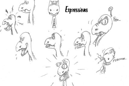 Expressions dragonesque