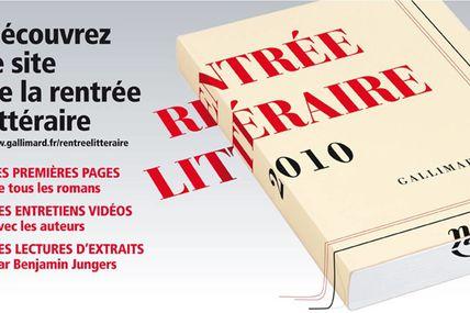 La rentrée littéraire chez Gallimard