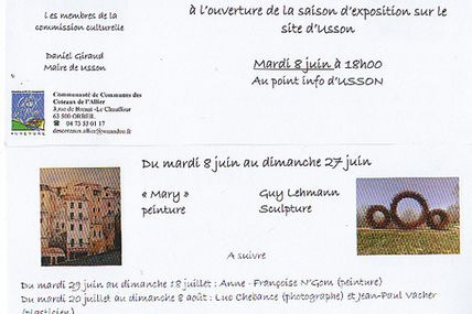 expo à USSON (63490)