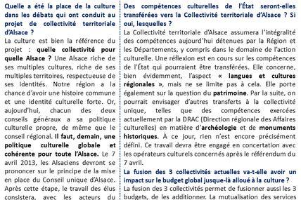 """Brigitte Klinkert: """"Il faut une politique culturelle globale et cohérente pour toute l'Alsace."""""""
