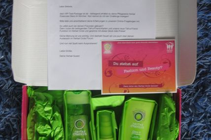 Produkttest: Herbal essences Glanz & Glimmer