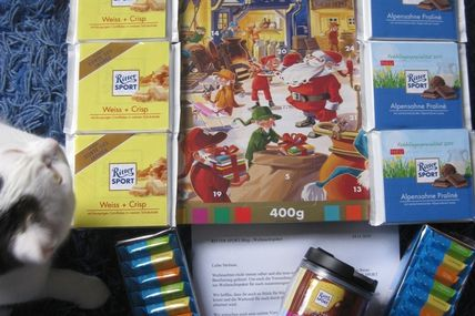 Advent-Paket von Ritter Sport
