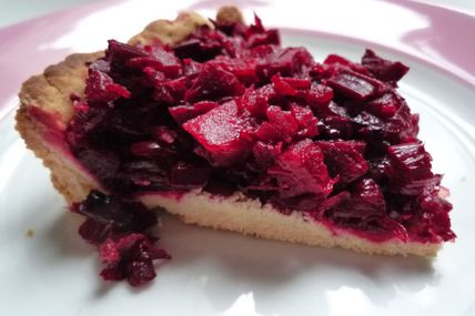 TARTE A LA BETTRAVE