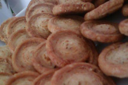 Bouchées feuilletés au parmesan et thym
