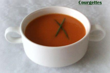 Soupe tomates-courgettes (facile)