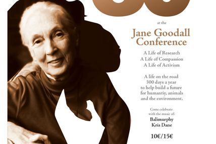 Jane Goodall celebrate her 80th in Brussels!