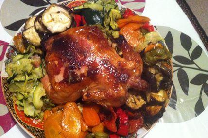 poulet aux four