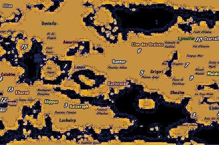 Cartographie d'Erebus