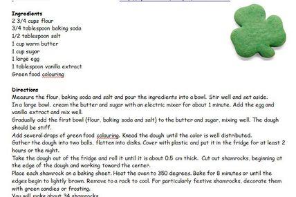 Saint Patrick's Day...