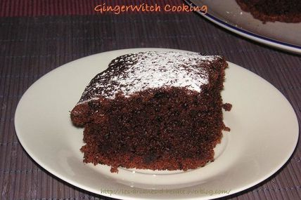 GingerWitch Cooking ~ Gâteau au chocolat sans œufs ni lait !
