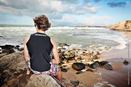 le 05 Décembre 2012 - Séance avec Théo Sicalac pour ses sponsorts de kite-surf