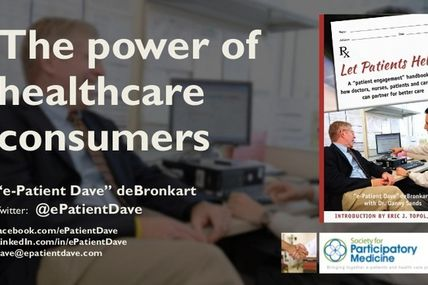 Patients as consumers: paradigm change required! |...