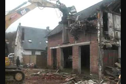 video demolition gaillon eure normandie meheust tp