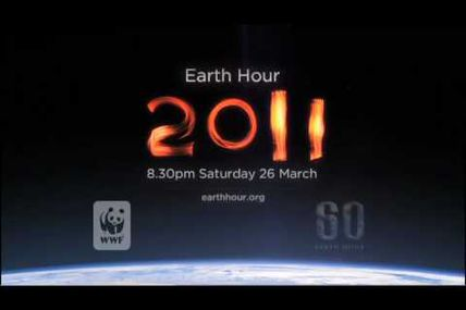 Earth Hour 2011 ce 26 mars à 20H30 !