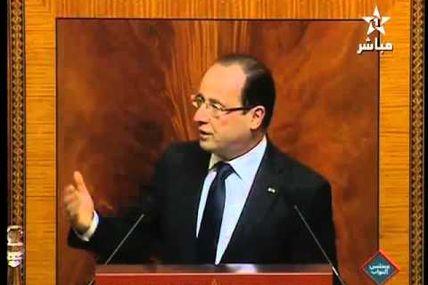 Le discours de François Hollande à Rabat