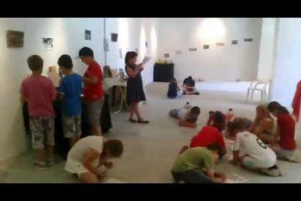 Premier jour de l'expo des élèves de l'Atelier KM17