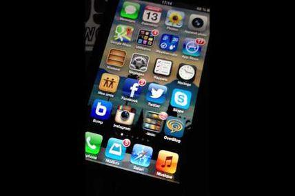 IPhone 5 doing the Harlem Shake