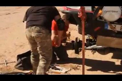 La vidéo du rallye du TEAM AB 4x4, M'Hamid Express, rallye 2013 moto, quad, SSV, 4x4, buggy, truck