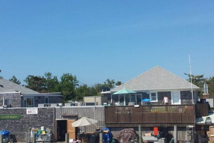 First stop on the ferry: Seaview! (@ Fire Island...