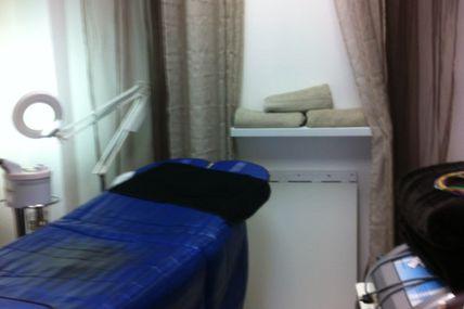 Prendre en photo la cabine minceur Quick epil proepil institut de beauté à Montbeliard