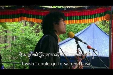 Song for HH Dalai Lama by Youlo