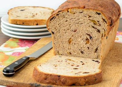 Mixed Berry Bread for #TwelveLoaves...
