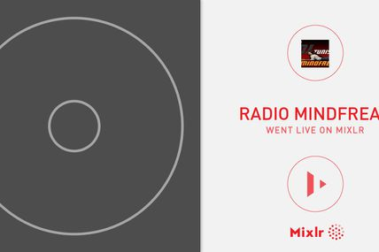 "I'm broadcasting LIVE right now on Mixlr. ""Radio..."