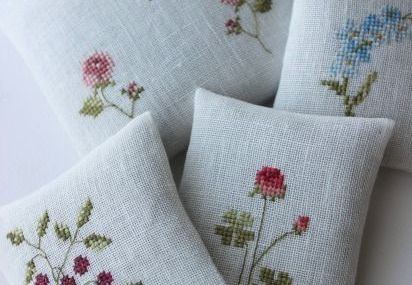 flowers embroidery c