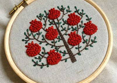 Pomegranate tree by