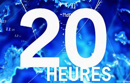 Raymond Domenech invité du 20h de Gilles Bouleau