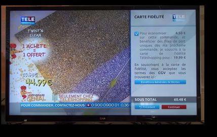 TF1 lance la première application de TV-commerce