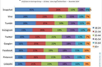 A breakdown of the demographics for each of the...