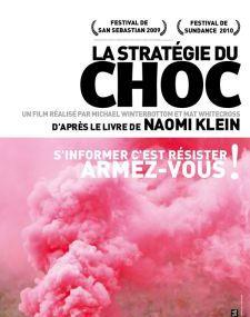 12 Décembre - Projection la stratégie du Choc, 18h30