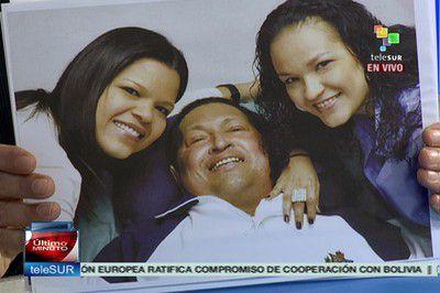 (VIDEO) Primeras imágenes del presidente Chávez...
