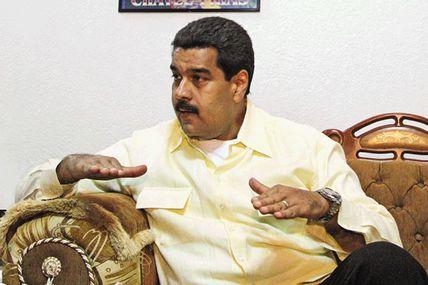 """Entrevista a Maduro: """"Hasta el último día..."""