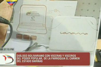 Muestran imagen de primera computadora Canaima...