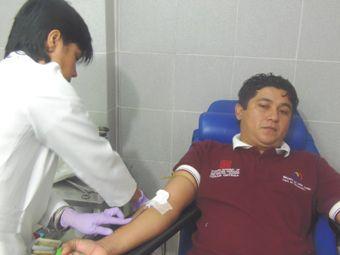 Salud Amazonas celebró jornada de donación de...