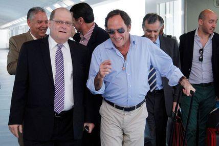 Ministro portugués Paulo Portas llega a Caracas...