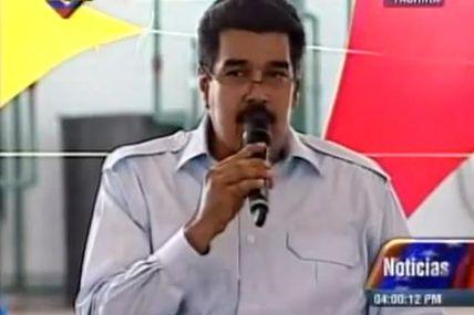 """(VIDEO) Maduro: """"El que tenga menos del salario..."""