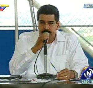 Presidente Maduro advierte que la burguesía...