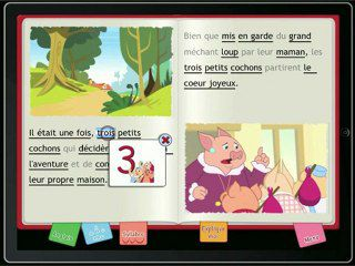 "So Ouat et son application ""Les 3 Petits Cochons"""