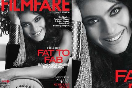 RT @filmfare: Kajol is our cover girl this...