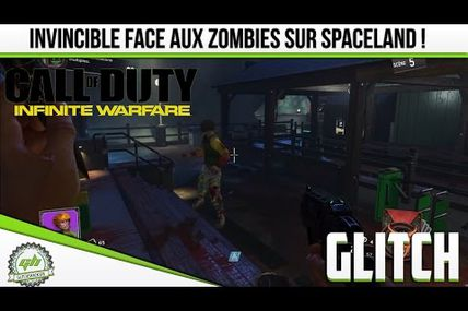 Glitch / Infinite Warfare Zombie : Être invincible au zombie sur SPACELAND !