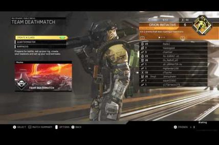 Glitch / Infinite Warfare : Comment booster votre xp en illimité !