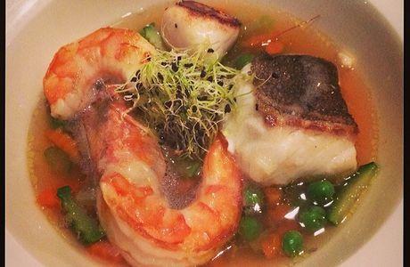 Photo: Panier pêcheur soupe yuzu!...