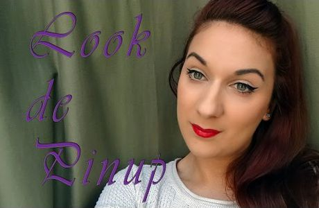 Maquillage de pinup simple et rapide / Mon maquillage quotidien