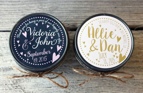 candle favors by veris candles and bath |...